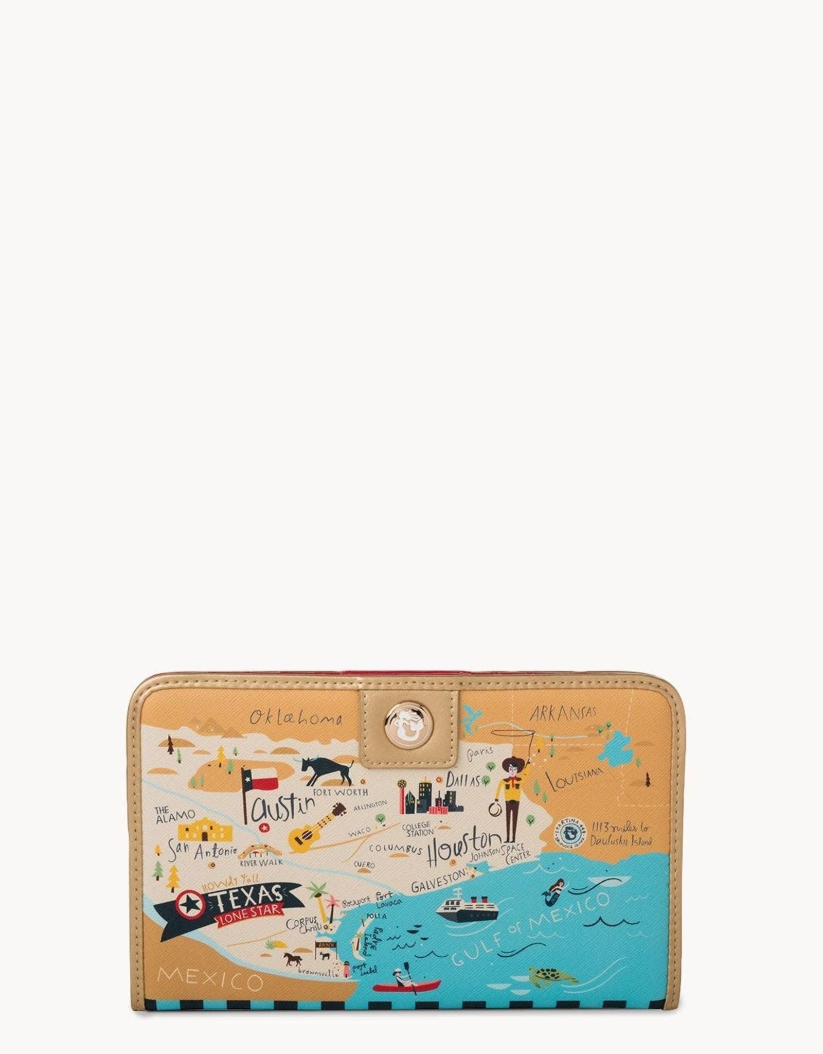 Spartina Spartina Texas Snap Wallet