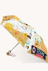 Spartina Spartina Texas Travel Umbrella