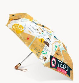 Spartina Spartina Texas Travel Umbrella