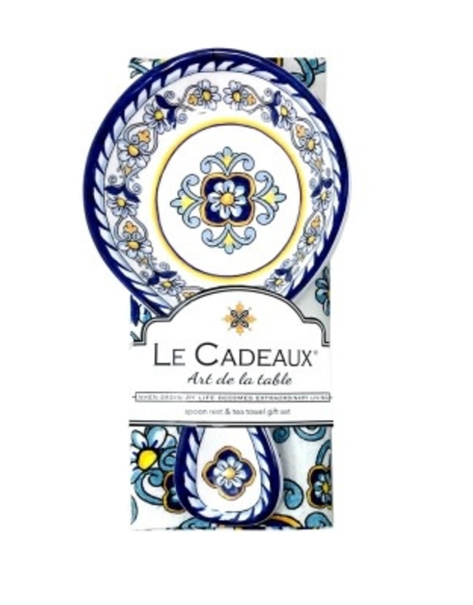 Le Cadeaux Le Cadeux Spoon Rest With Tea Towel