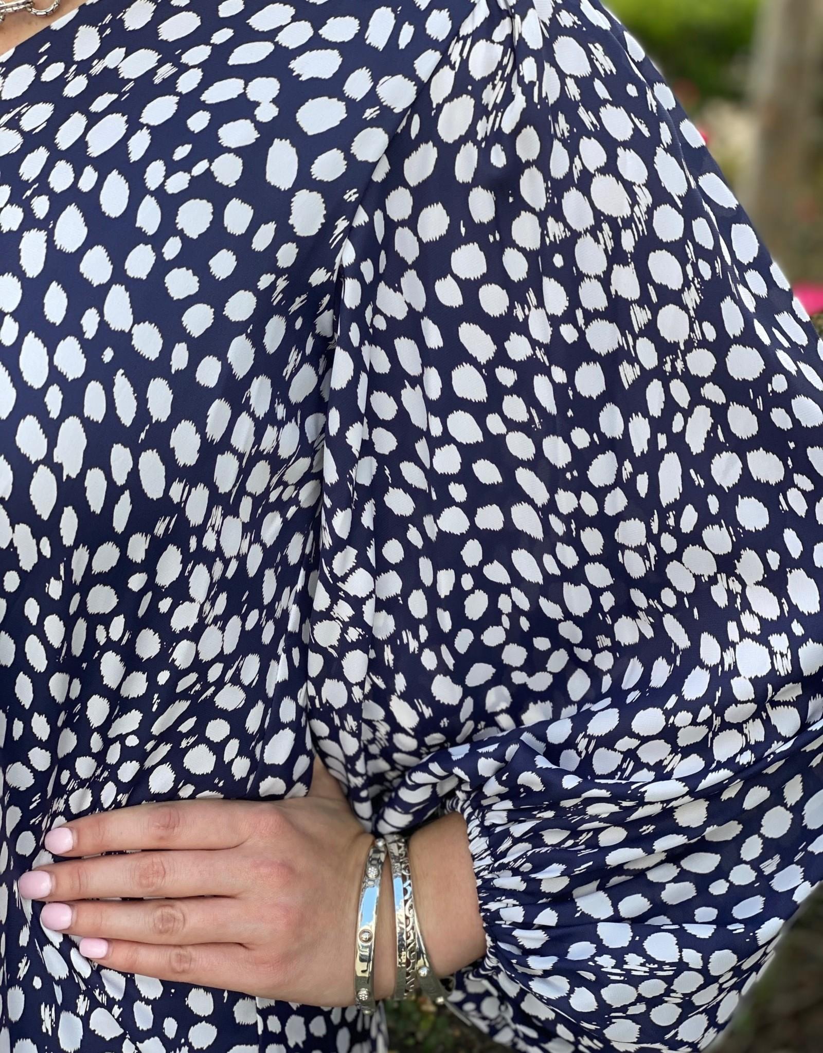 Adrienne Adrienne Silky Bubble Top