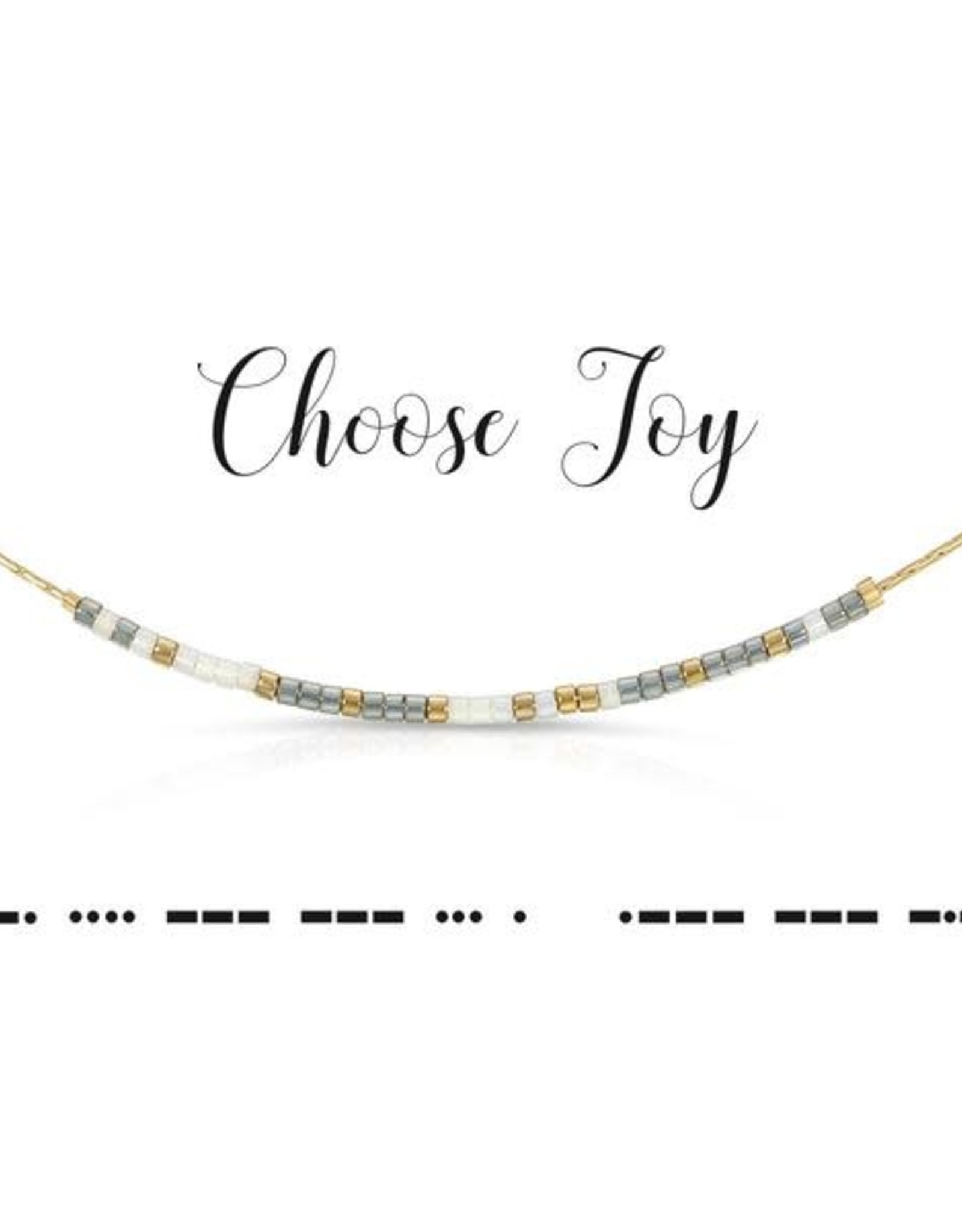 Dot & Dash Design Dot & Dash Inspirational Necklace