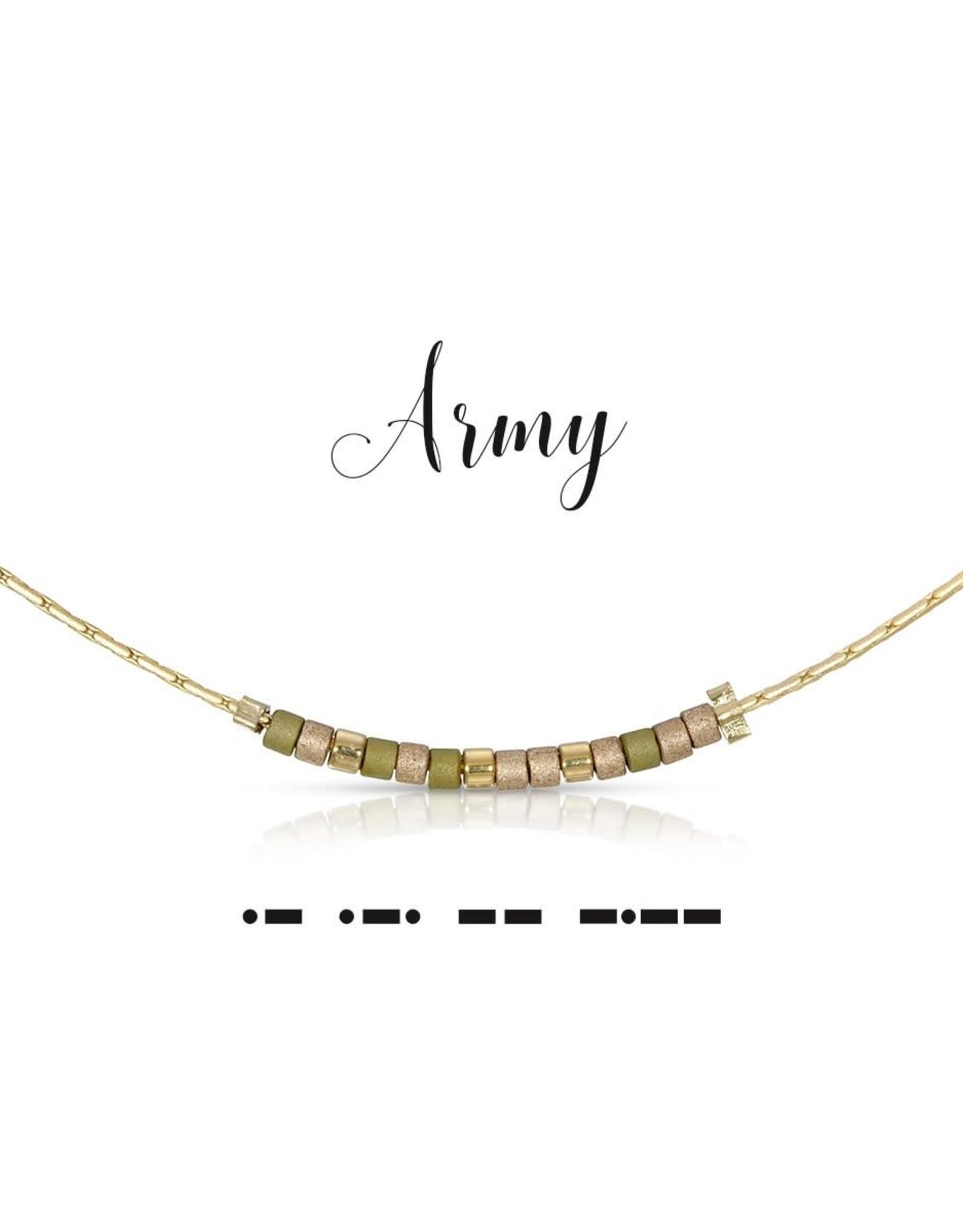Dot & Dash Design Dot & Dash Military Necklace