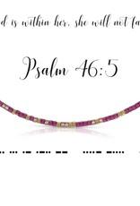 Dot & Dash Design Dot & Dash Scripture Necklace - Psalm