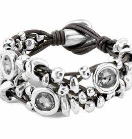UNOde50 UNO de 50 My Becoming Bracelet Silver Grey