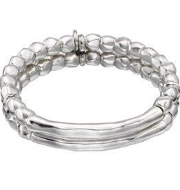UNOde50 UNO de 50 Tandem Bracelet Silver