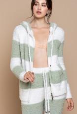 POL Clothing Inc. Starlight Berber Zip Hoodie
