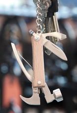 Kikkerland Mini Wood Hammer Multi Tool