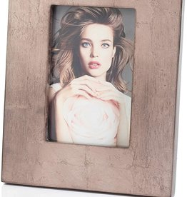 Zodax Zodax Antique Rose Gold Leaf Frame