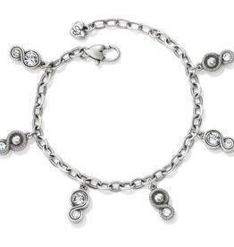 Brighton Brighton Infinity Sparkle Charm Bracelet