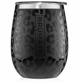 Brumate Brumate Uncork'd Onyx Leopard 14oz Wine