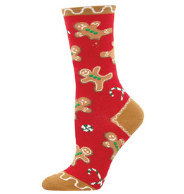 Socksmith Women's Goodie Gumdrops Red Socks