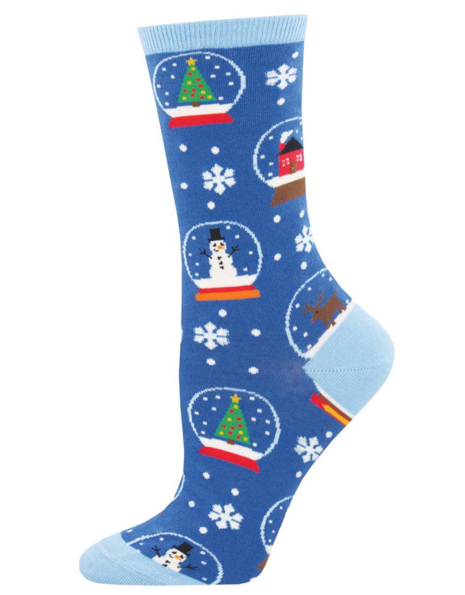Socksmith Women's Snow Much Fun Blue Socks