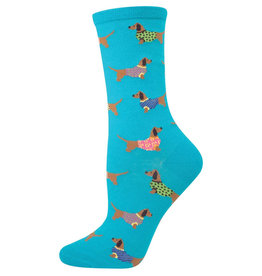Socksmith Women's Haute Dog Blue Lagoon Socks