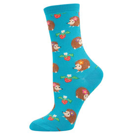 Socksmith Women's Hedgehogs Blue Socks