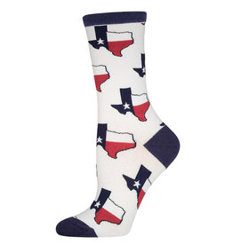 Socksmith Women's Texas White Socks