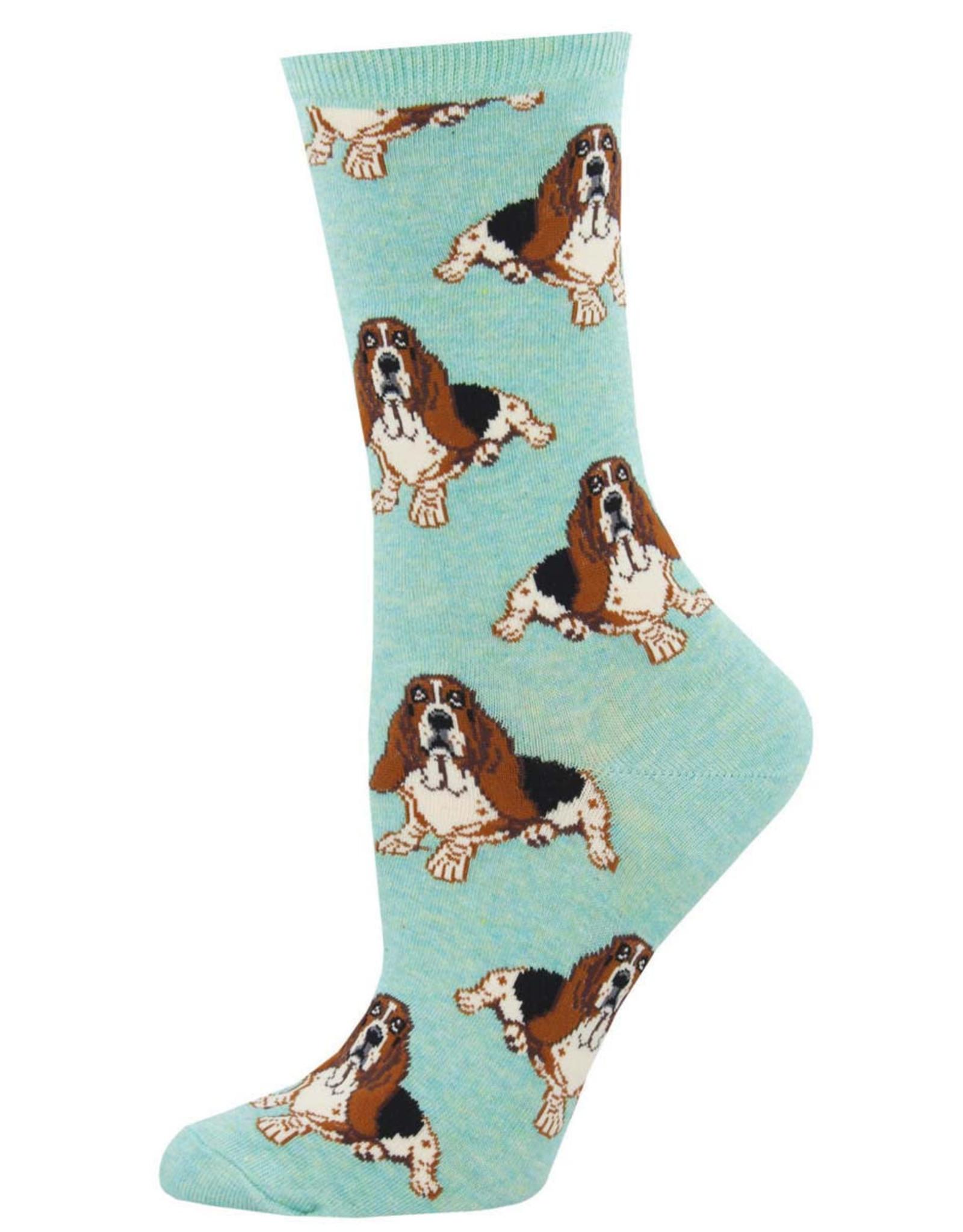 Socksmith Women's  Hound Dog Mint Socks