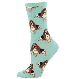 Socksmith Women's  Hound Dog Mint Socks