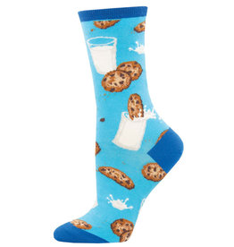 Socksmith Women's Mmm Cookies Blue Socks