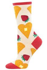 Socksmith Women's Heart Smart Waffle Socks