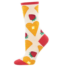 Socksmith Women's Heart Smart Waffle Socks