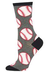 Socksmith Women's Out to the Ball Game Baseball Socks