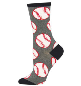 Socksmith Women's Out to the Ball Game Baseball Socks