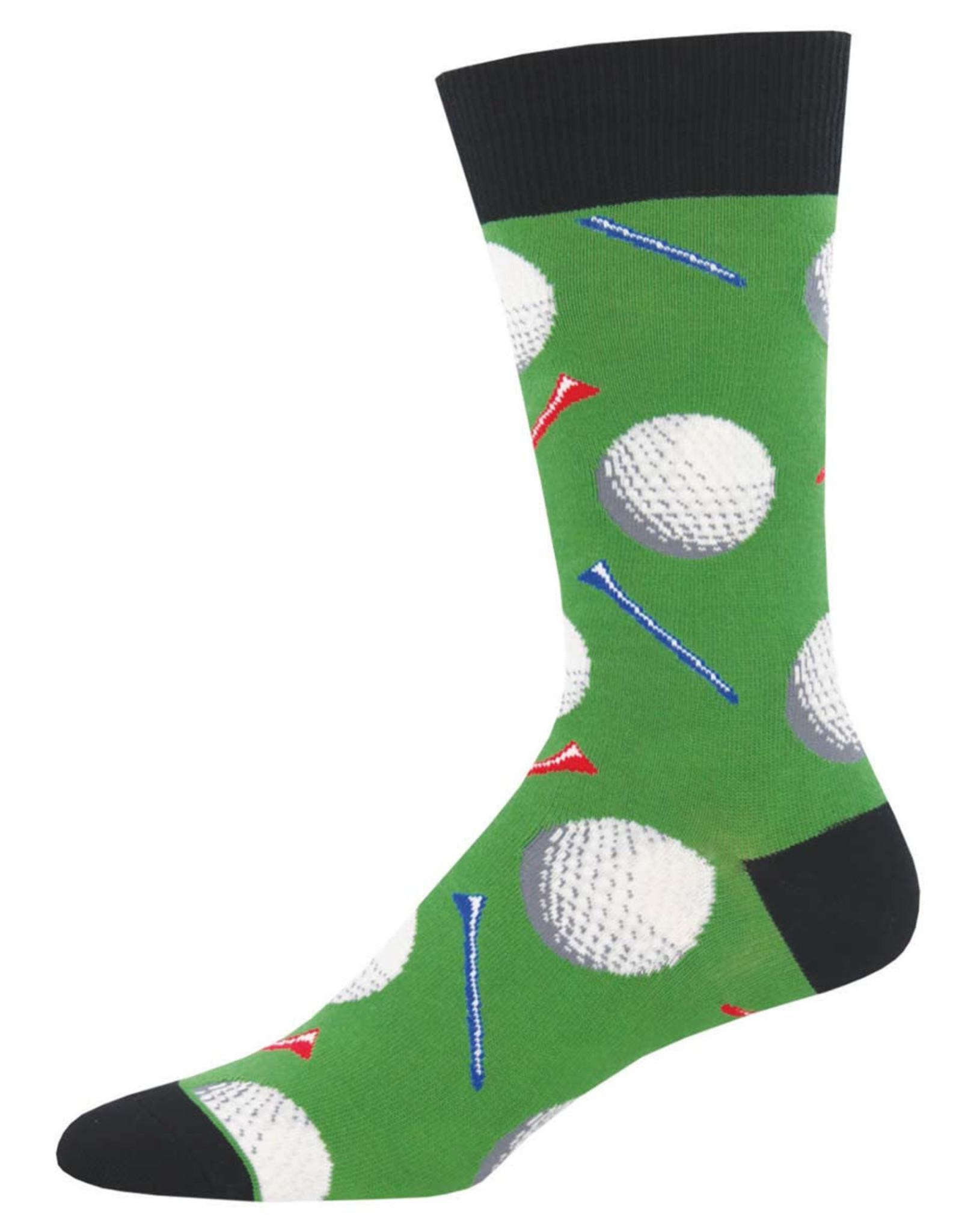 Socksmith Men's Tee It Up Golf Socks