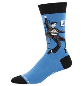 Socksmith Men's Jailhouse Rock Elvis Socks