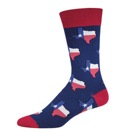 Socksmith Men's Texas Navy Socks