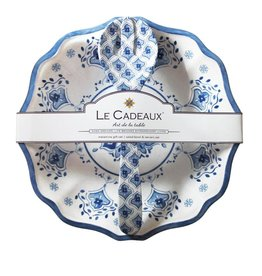 Le Cadeaux Le Cadeaux Salad Bowl & Servers Gift Set