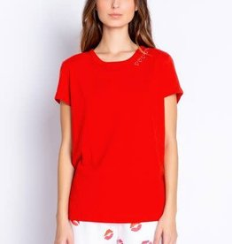 PJ Salvage PJ Salvage With a Kiss Red Hot Tee
