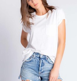 PJ Salvage Pj Salvage Back To Basics Tee Ivory
