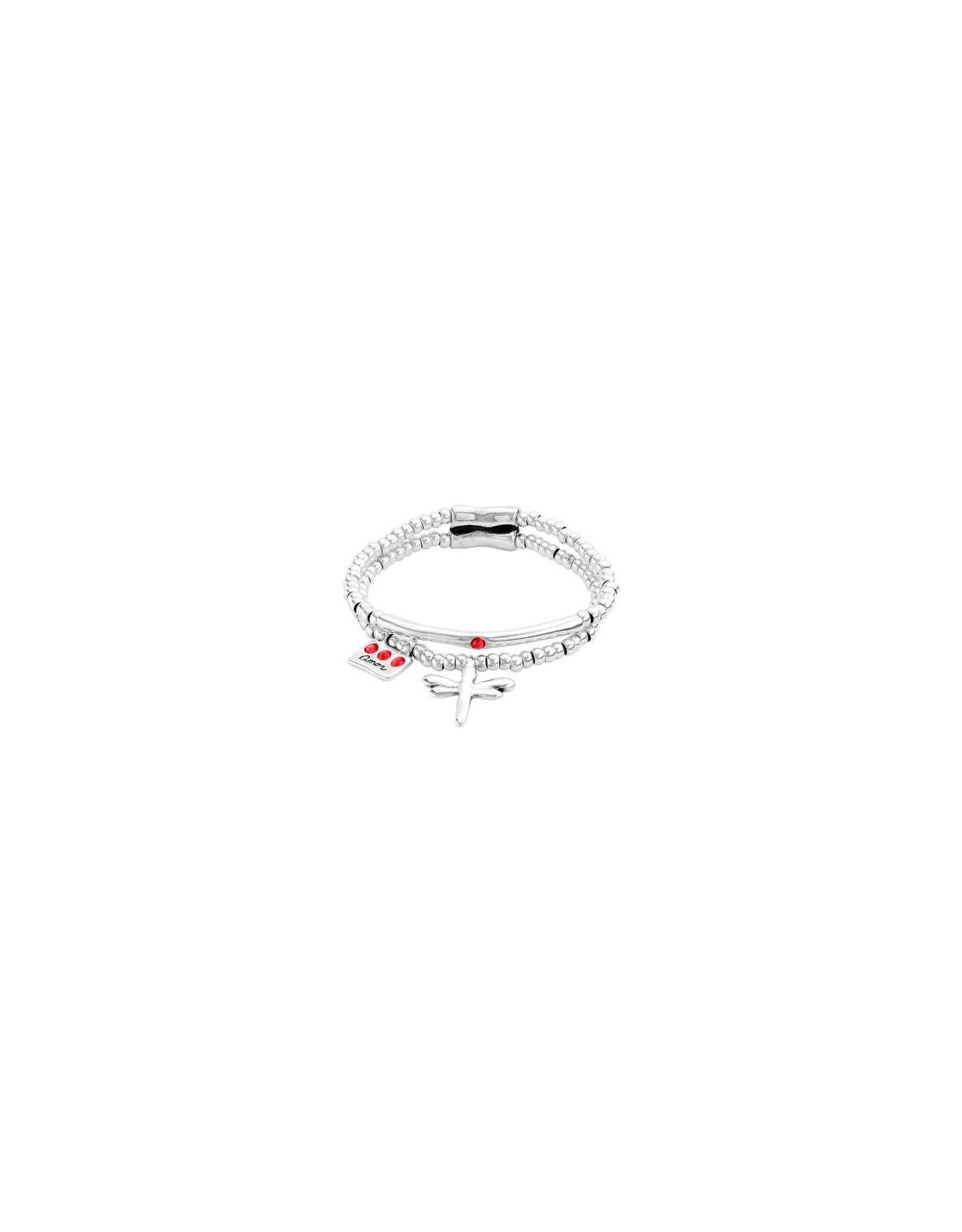 UNOde50 Love-Me Double Bracelet