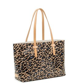 Consuela Blue Jag East West Tote