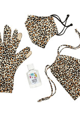 Brighton Brighton Classic Leopard Mask & Gloves Set