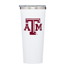 Corkcicle Corkcicle 24oz Collegiate Logo Tumbler