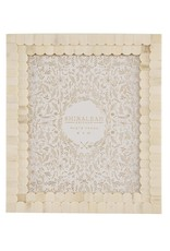 Shiraleah Mansour Scalloped 8x10 Ivory Gallery Frame