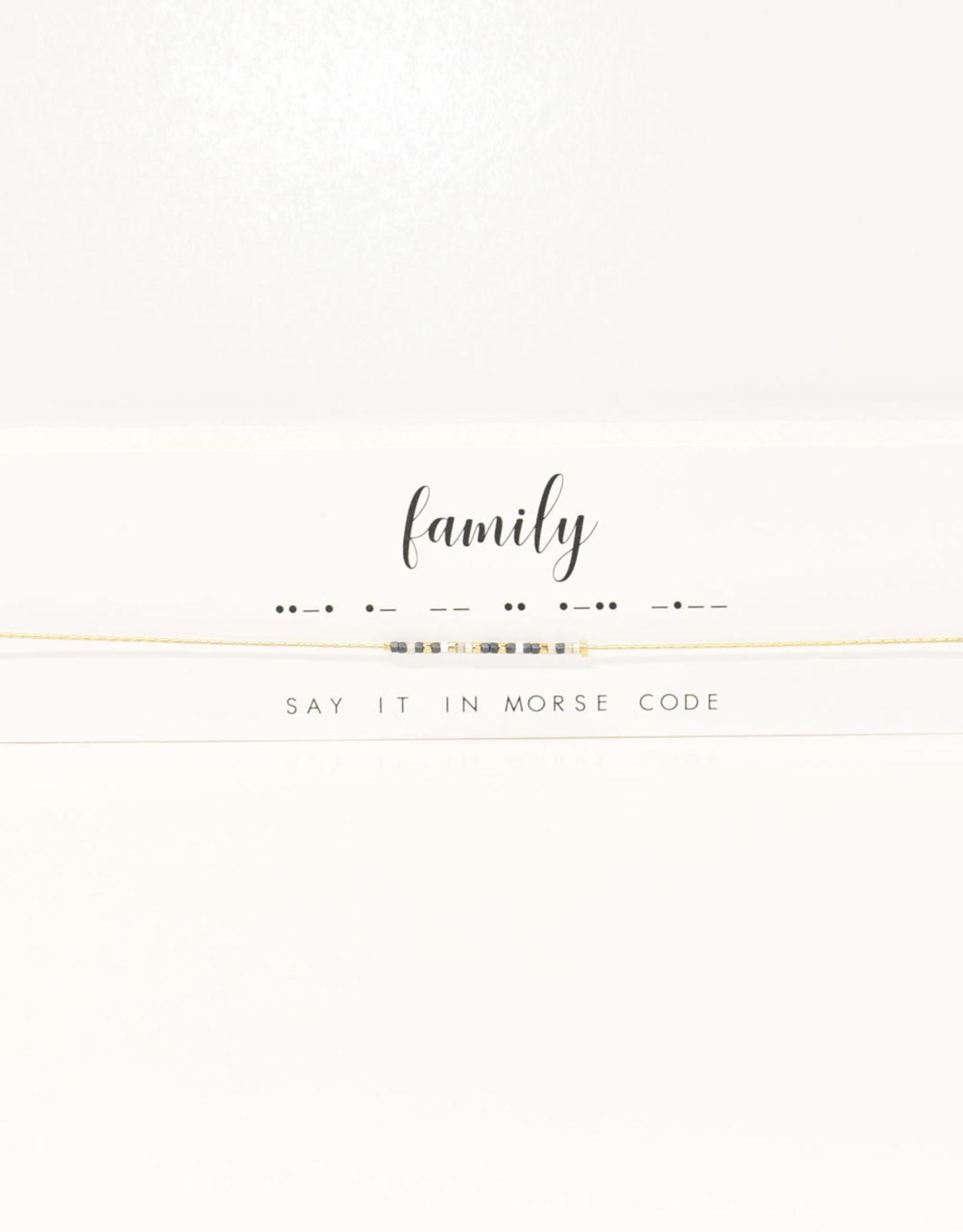 Dot & Dash Design Dot & Dash Family & Friendship Necklace