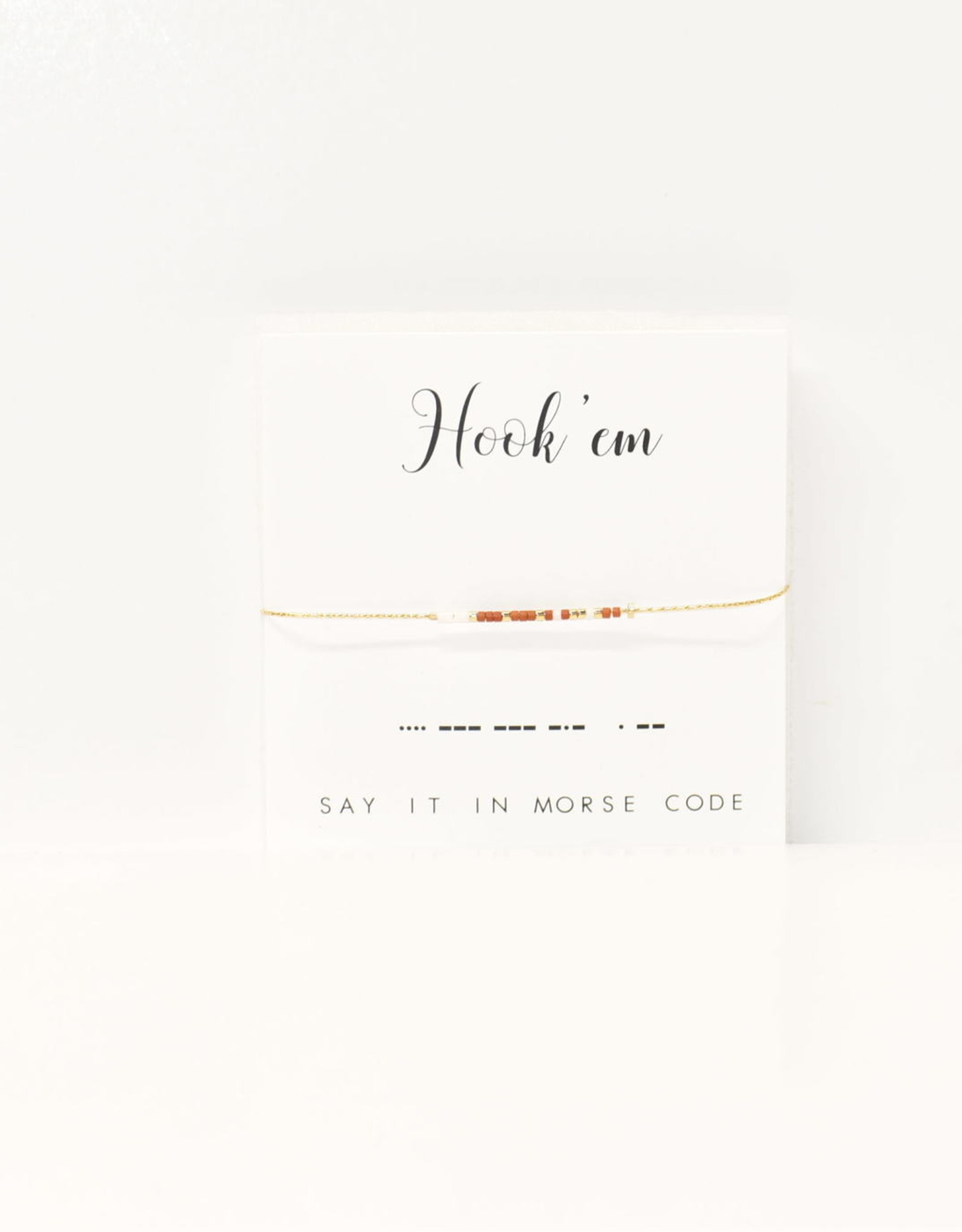 Dot & Dash Design Dot & Dash Collegiate Bracelet