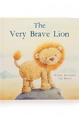 Jellycat Inc. The Very Brave Lion Book