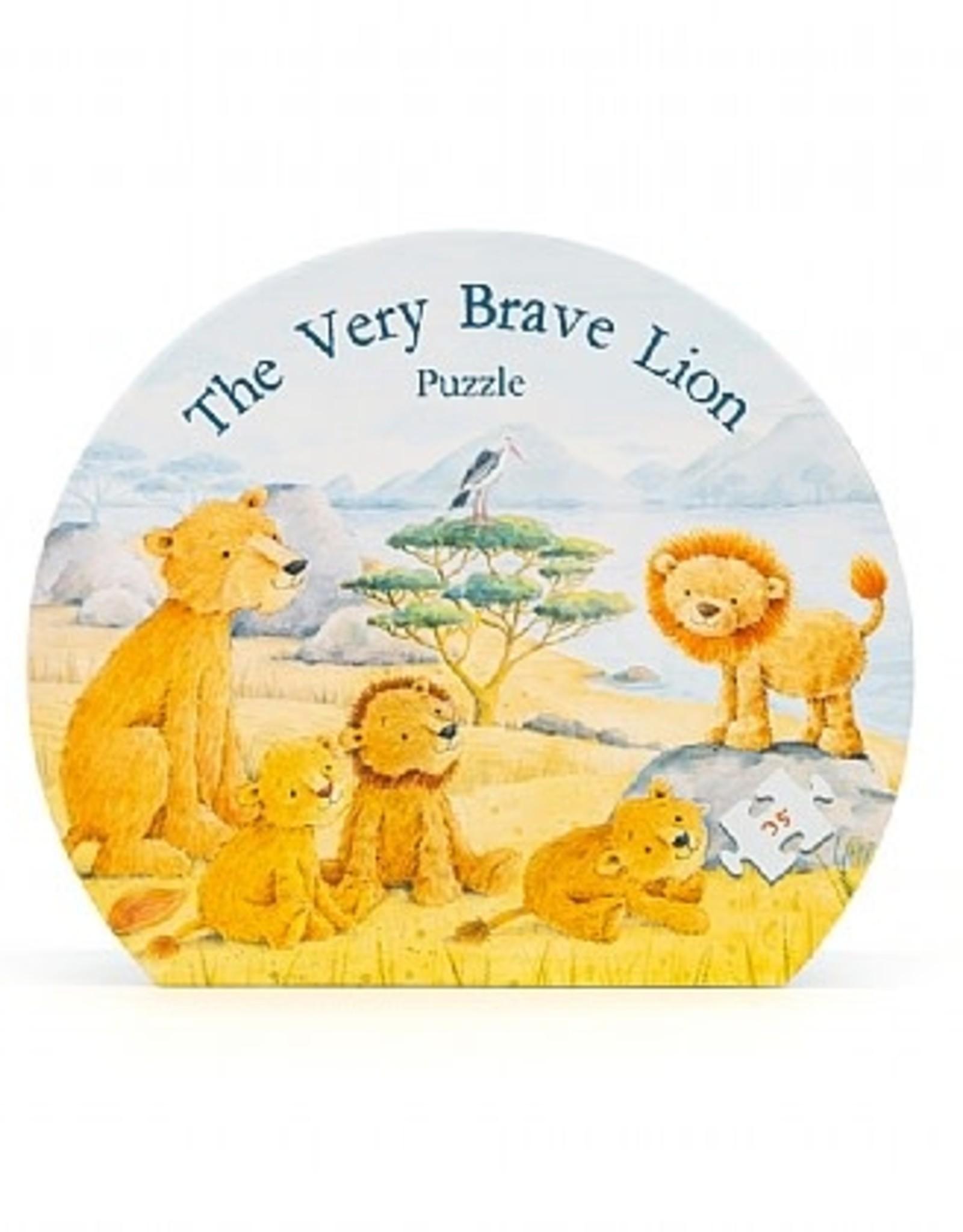 Jellycat Inc. Jellycat The Very Brave Lion Puzzle