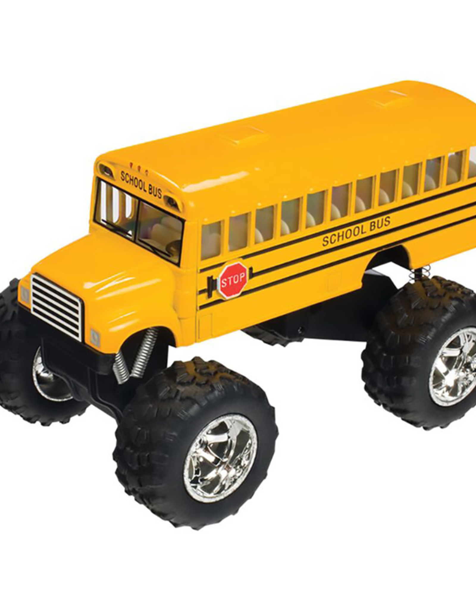 Toysmith Monster School Bus
