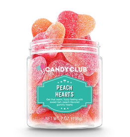 Candy Club LLC Candy Club Peach Hearts