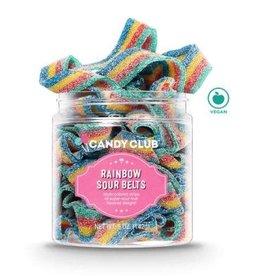 Candy Club LLC Candy Club Rainbow Sour Belts