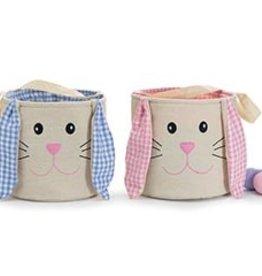 Burton & Burton Easter Bunny with Gingham Ears Bag