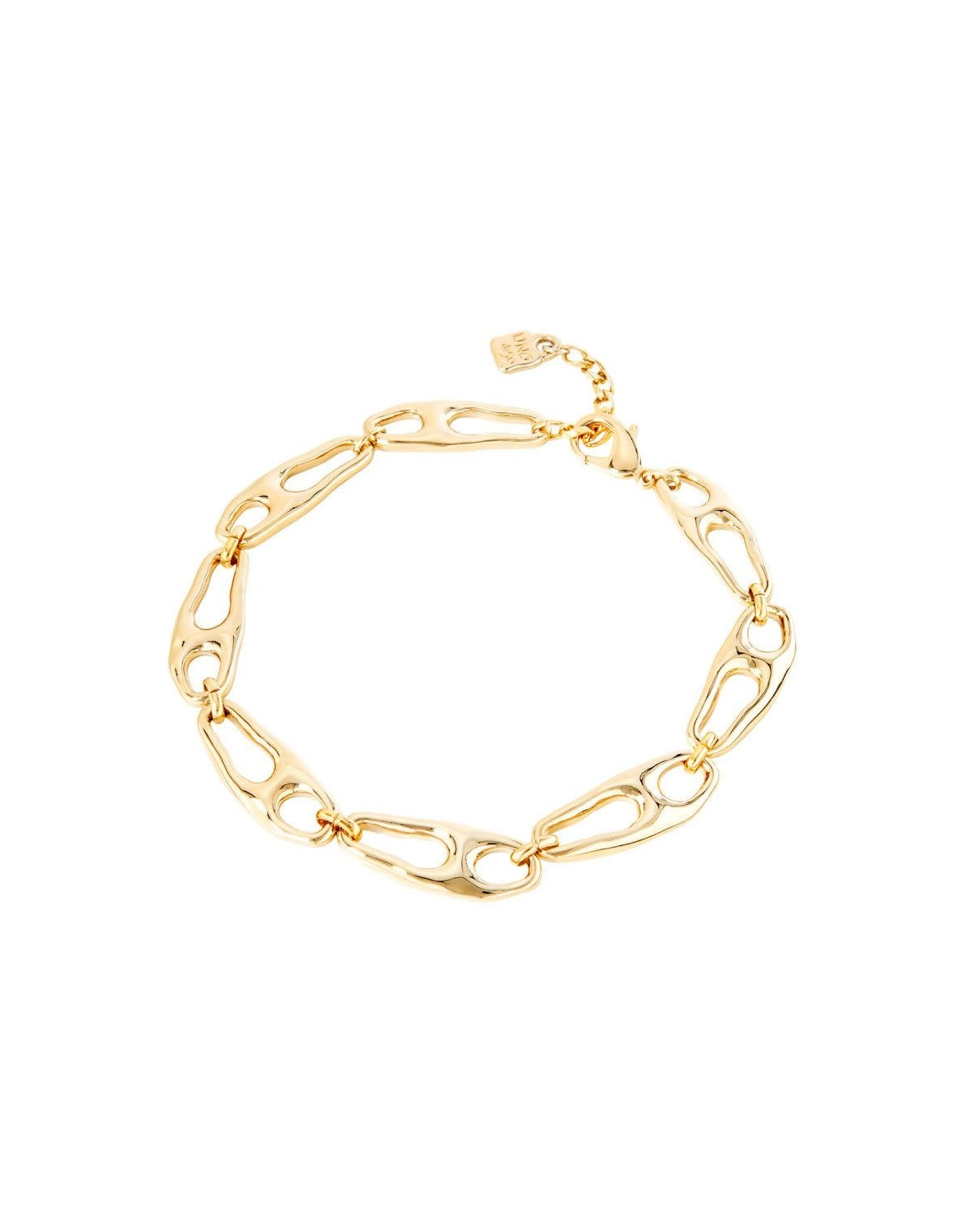 UNOde50 Connected Necklace Gold