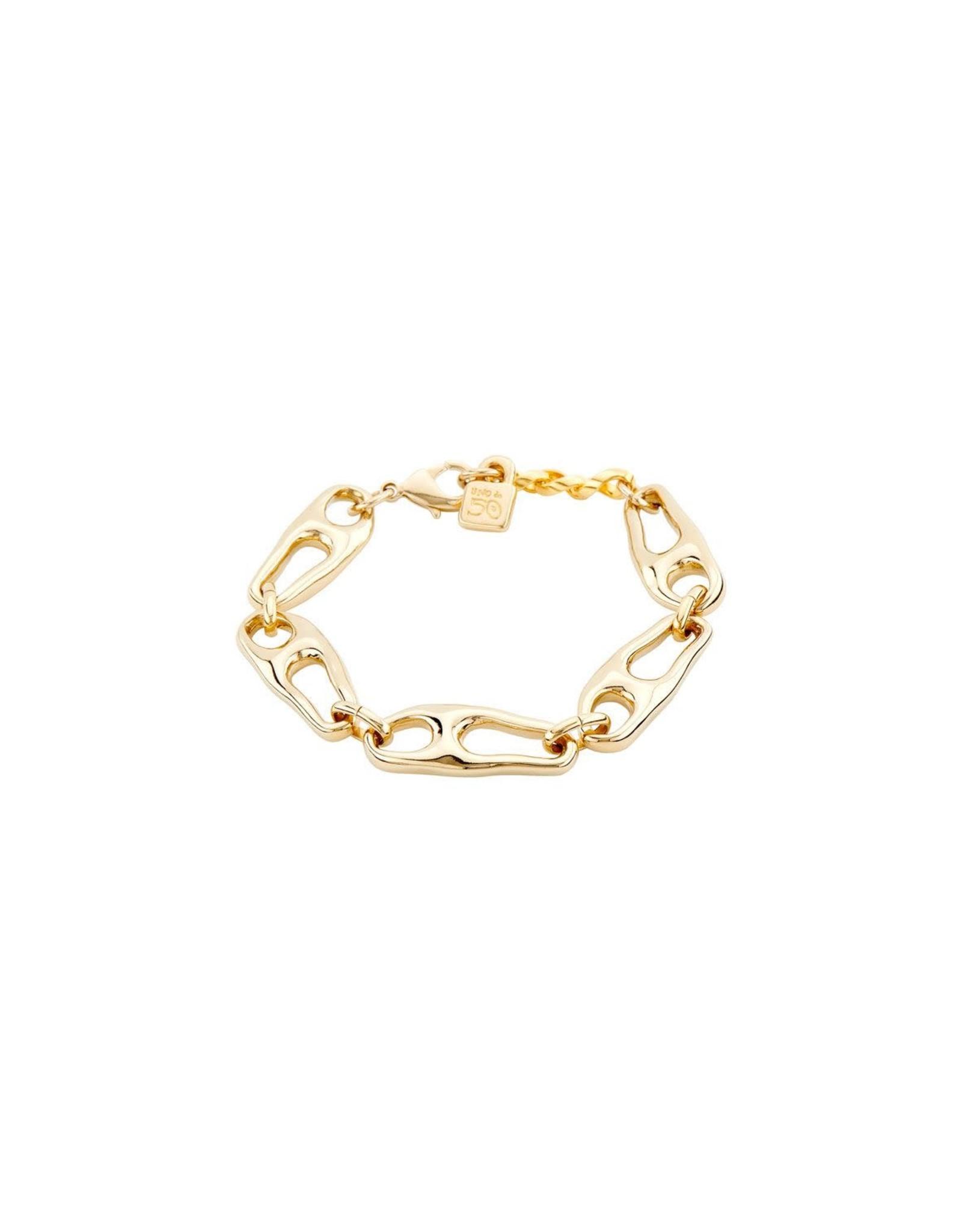 UNOde50 Connected Bracelet Gold