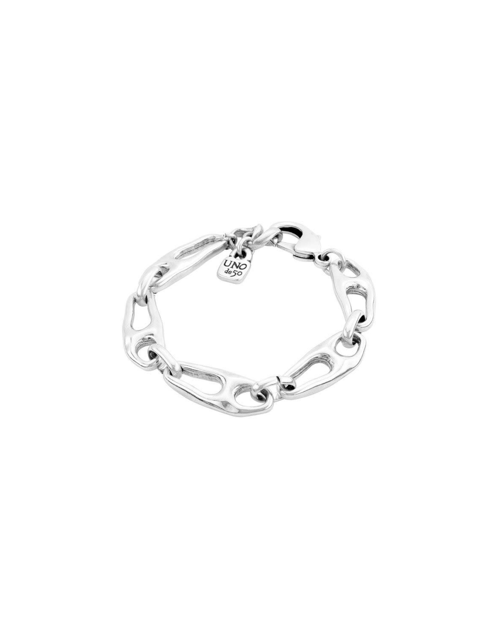UNOde50 Connected Bracelet Silver