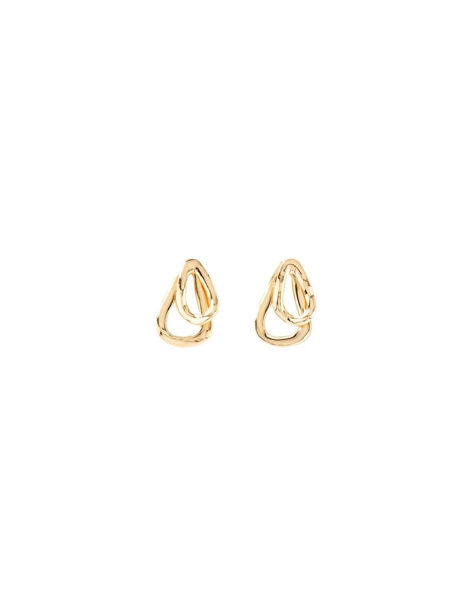 UNOde50 Connected Gold Earring